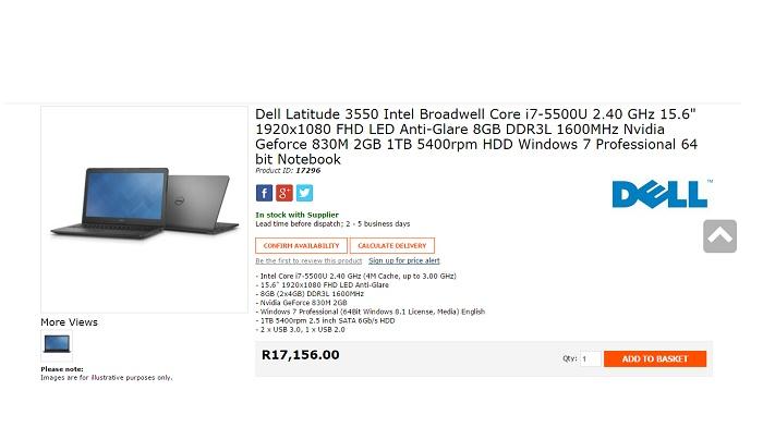 ZA Wootware Dell