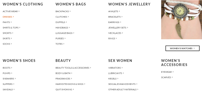 ZA Zasttra categories