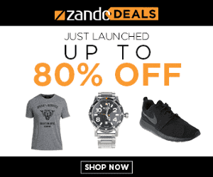 Zando Deals Are Live Now!
