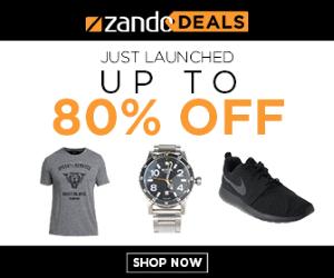 Zando Deals Are Live Now!